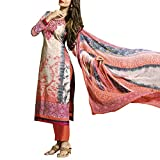 Bhelpuri Women Multi Color Cotton Dress Material