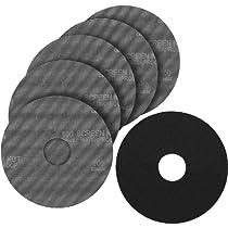 PORTER-CABLE 79120-5 120 Grit Hook & Loop Drywall Sander Pad & Discs (5-Pack)