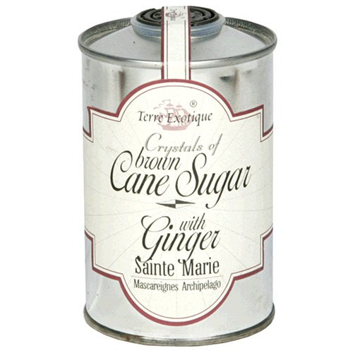 Buy La Terre Exotique Brown Cane Sugar – Ginger, 8.8 Ounce Unit (Pack of 2)