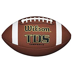 <b>Wilson TDS Composite High School Game Ball Football</b>