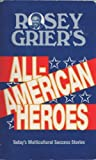 img - for Rosey Grier's All-American Heroes: Multicultural Success Stories by Roosevelt