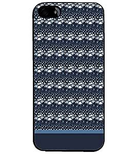 PrintDhaba Umbrella Pattern D-1902 Back Case Cover for APPLE IPHONE 4S (Multi-Coloured)