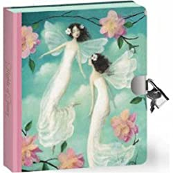 Peaceable Kingdom Flights Of Fairy Fancy Lock And Key Diary
