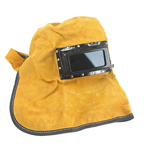comfortable leather filter inner outter lens glasses welding hood helmet welding protection. Black Bedroom Furniture Sets. Home Design Ideas