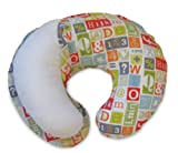 Boppy Cottony Cute Slip Cover, Letterset