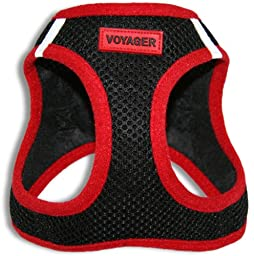 Best Pet All Season Pet Harness, X-Large, Red