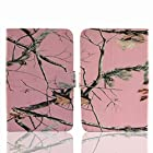 Hannspree 10.1 inch Tablet CAMO PINK OAK TREE CASE COVER with STAND FIT ALL 10 and 10.1 Tablets