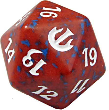 Journey Into Nyx D20 Spindown Life Counter - Red - 1