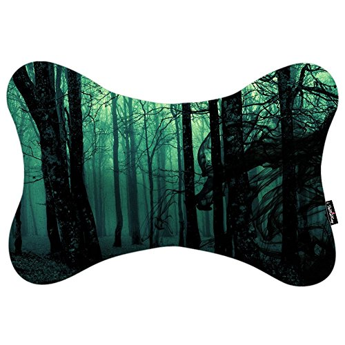 i-famuray-winsome-forest-design-car-neck-support-pillow-with-headrest-strap