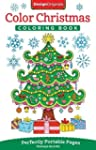 Color Christmas Adult Coloring Book:...