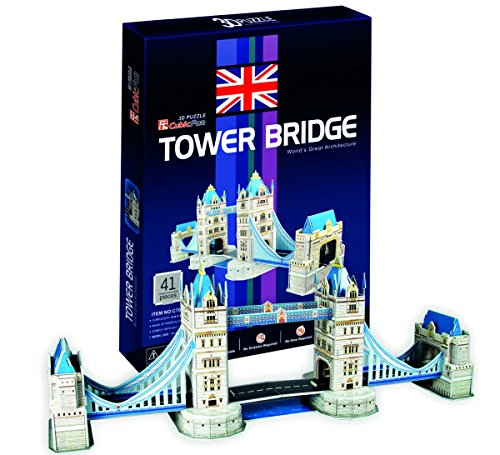 CUBIC FUN C702h - 3D Puzzle Tower Bridge Londra Regno Unito U.K.
