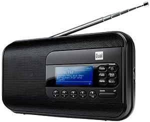 Dual IR 5 Internetradio (WiFi (WEP, WPA, WPA2), RDS-PLL-UKW-Tuner, Akku, Kopfhöreranschluss) Schwarz