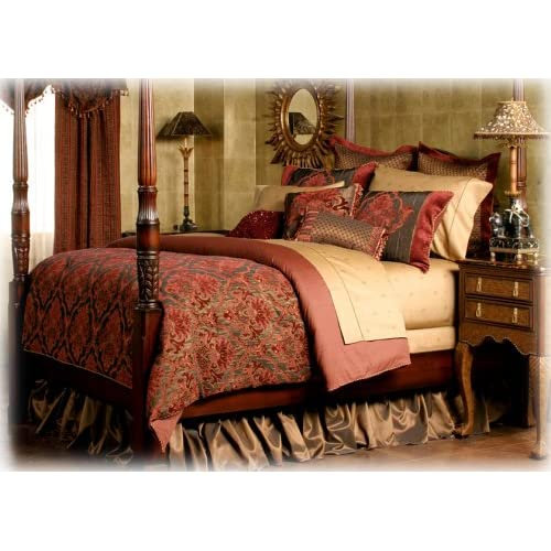 Amazon.com - Raymond Waites Alissa Queen Comforter Set -