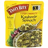 Tasty Bite Indian Entrée, Kashmir Spinach, 10 Ounce (Pack of 6)