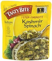 Tasty Bite Indian Entrée, Kashmir Spinach, 10 Ounce (Pack of 6)