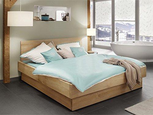 Bett Saphira, Massivholzbetten, Massivholzbett, Holzbett, 200×100, Kernbuche günstig bestellen
