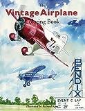 Vintage Airplane Coloring Book