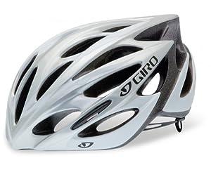 GIRO Monza Argent/Blanc Tour de tête 59-63 cm 2014 Casque vélo de route
