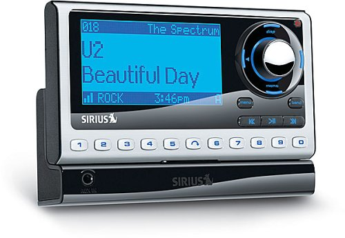 SIRIUS Sportster 4 Satellite Radio Receiver with Car Kit