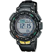 Casio PAG240-1CR Pathfinder Triple Sensor Multi-Function Men's Sport Watch (Black)
