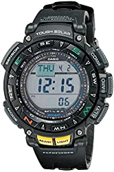 "Casio Men's PAG240-1CR ""Pathfinder"" Triple Sensor Multi-Function Sport Watch"
