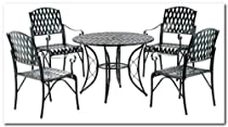 Hot Sale Diamond Lattice 5 Piece Dining Set
