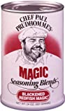 Chef Paul Prudhommes Magic Seasoning Blends ~ Blackened Redfish Magic, 24-Ounce Canister