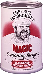 Chef Paul Prudhomme's Magic Seasoning Blends ~ Blackened Redfish Magic, 24-Ounce Canister