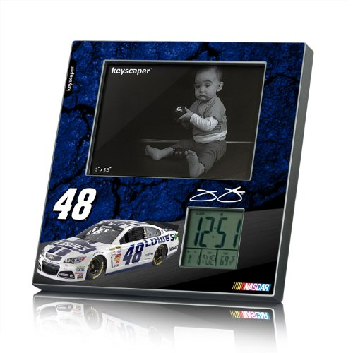 Jimmie Johnson Picture Frame And Desk Clock Number 48 Lowe'S Nascar