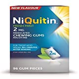 NiQuitin 2mg Fresh Mint Gum 96 Pieces