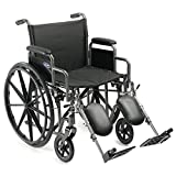 "Invacare Veranda Manual Wheelchair (20"" X 16"" Desk-length Arms Elevating Legrests)"