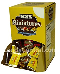 Hershey's Miniatures Assortment,  120-Count Changemaker