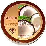 Delon Intense Moisturizing Coconut Body Butter 6.9oz/196g