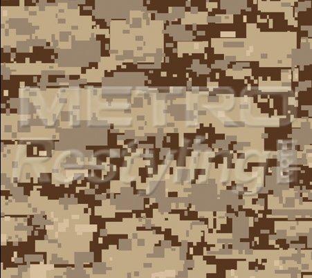 "Digital Desert Camouflage Vinyl Wrap Decal Adhesive-Backed Sticker Film 48""X12"""