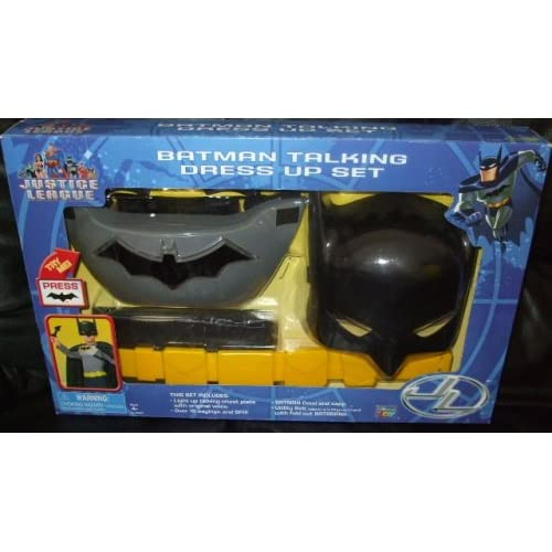 Amazon.com: Batman Justice League Talking Dress Up Set