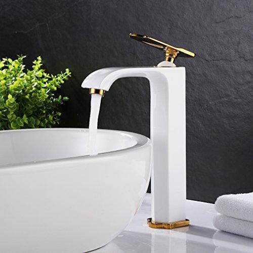 Bonade Hoch Bad Armatur Wasserhahn Mischbatterie Waschtischarmatur