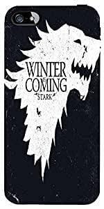 Snoogg Winter Is Coming 2560 Case Cover For Apple Iphone 5C