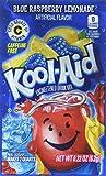 Kool-Aid Twists Soft Drink Mix - Ice Blue Raspberry Lemonade Unsweetened, Caffeine Free, 0.22 oz/envelope (Pack of 15)