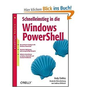 eBook Cover für  Schnelleinstieg in die Windows PowerShell oreillys basics