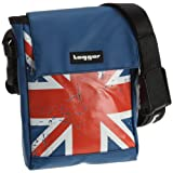 Tagger  Messenger Bag Crew Union Jack OLBL, Sac bandoulière mixte adulte - Bleu, Synthétique
