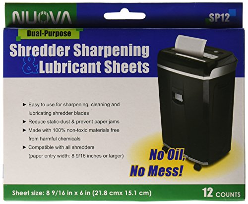 nuova-sp12-shredder-sharpening-lubricant-sheets-12-count