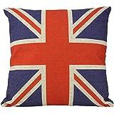 British Vintage Style Union Jack Flag Throw Pillow Case, Pillowcase