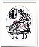 オリムパス製絲 クロスステッチ刺しゅうキット オノエ・メグミ 「赤毛のアンの物語」 お茶の時間 7456