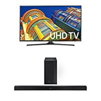 Samsung UN60KU6300 60-Inch TV with HW-K450 Soundbar