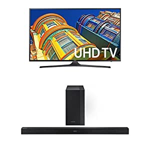 Samsung UN40KU6300 40-Inch TV with HW-K450 Soundbar