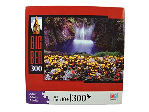 Big Ben 300 Piece Jigsaw Puzzle From Milton Bradley By Hasbro: Waterfall in British Columbia Canada
