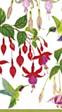 Entertaining with Caspari Hummingbirds Paper Guest Towels, Pack of 15