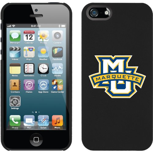 Great Price Marquette - MU Banner design on iPhone 5 Thinshield Snap-On Case by Coveroo