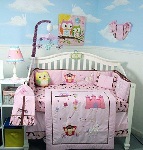 New Princess Story Baby Infant Crib Nursery