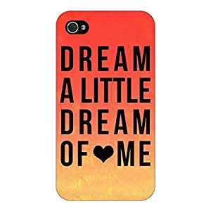 Jugaaduu Dream Love Back Cover Case For Apple iPhone 4S